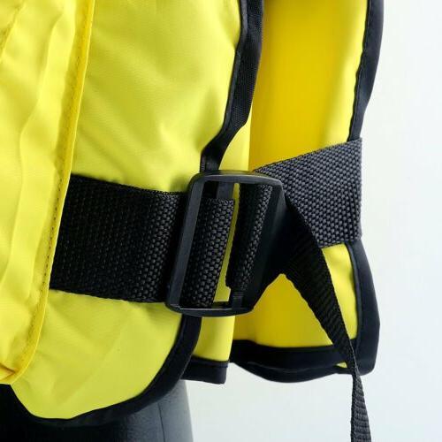Yellow Sailing Kayak Fishing Life Jacket -D13