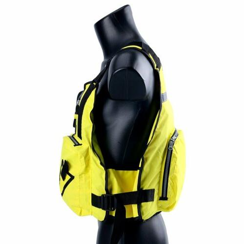 Yellow Sailing Jacket Vest -D13