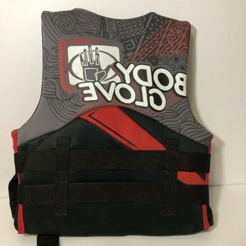 Body Youth 50 to III PFD Life Jacket Red