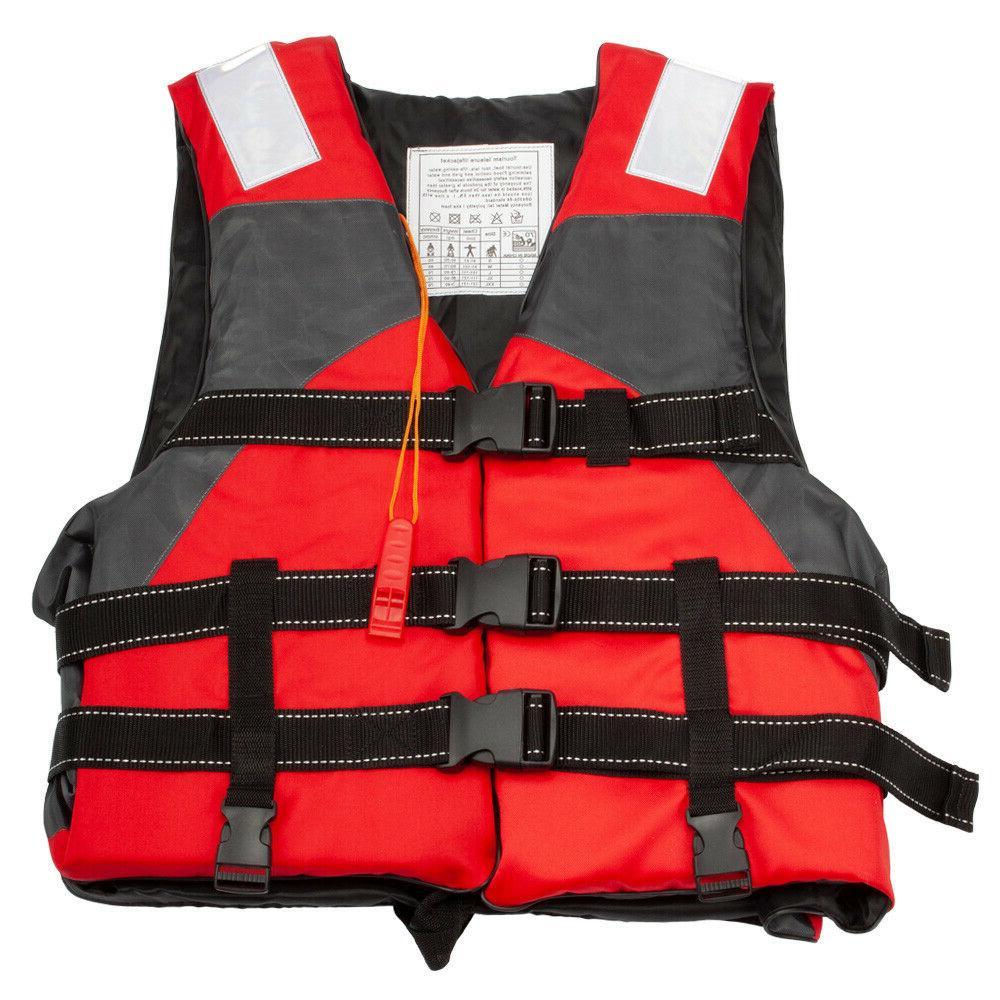Adult Adjustable Fishing Life Jacket Kayak