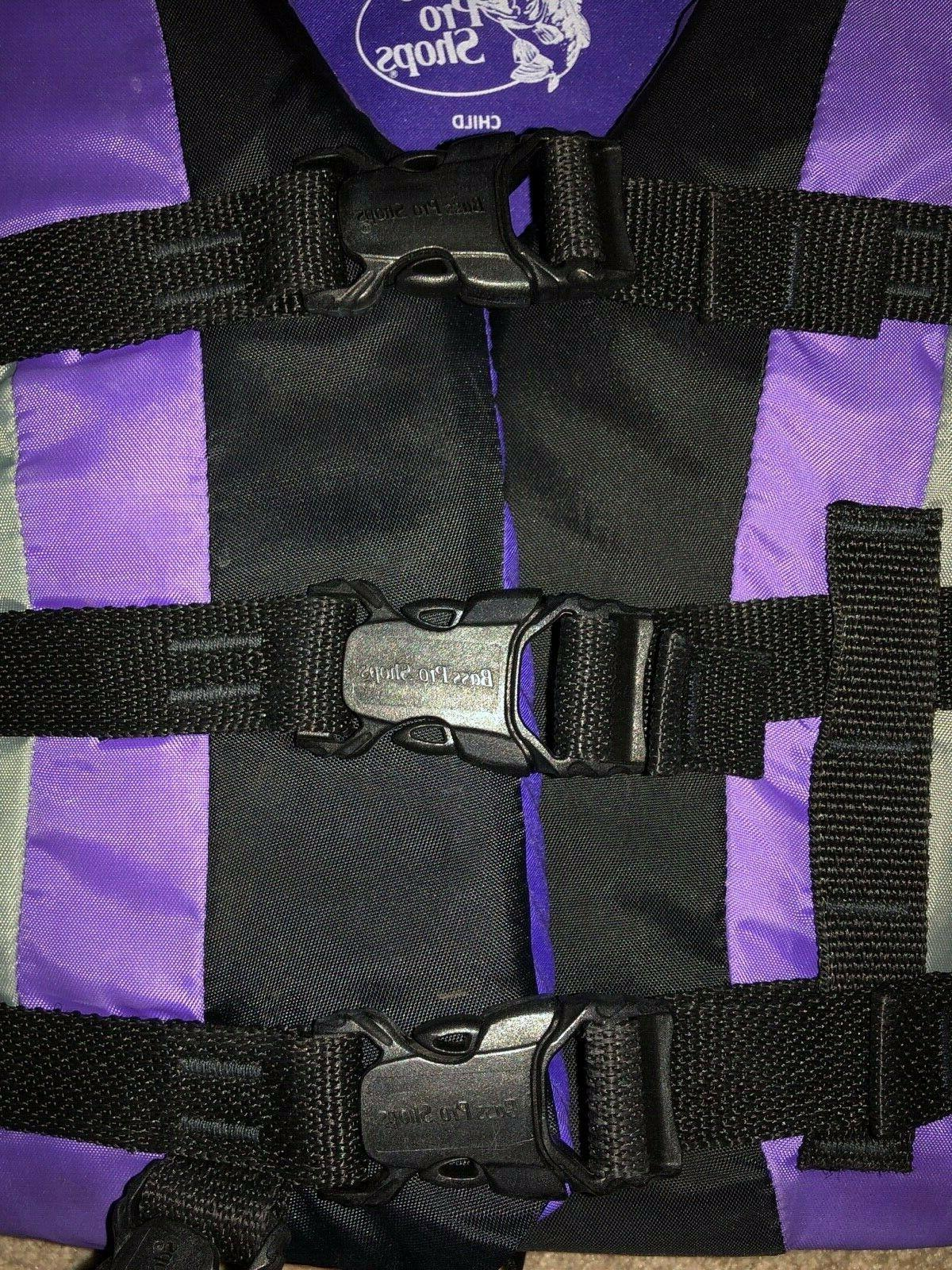 Youth Life Jacket Type lbs Purple Preserver Bass Pro