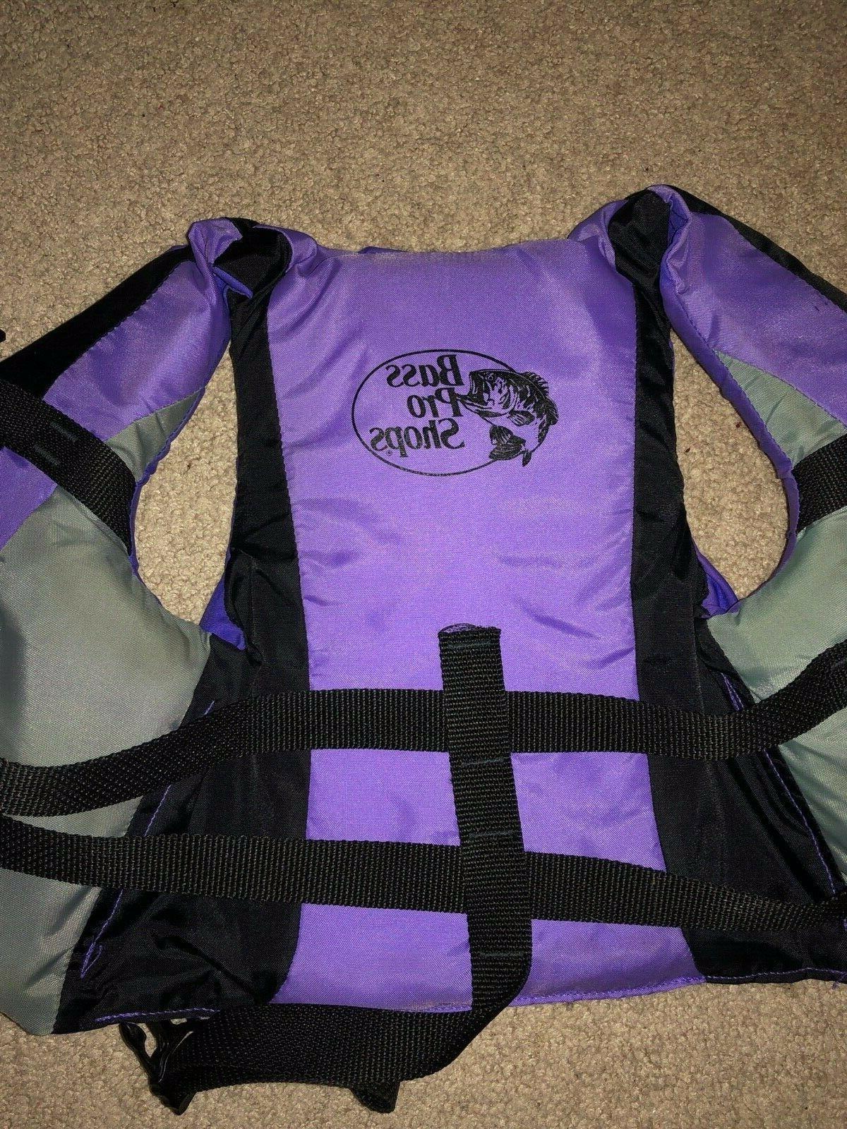 Type 3 30-50 lbs Purple Preserver Bass