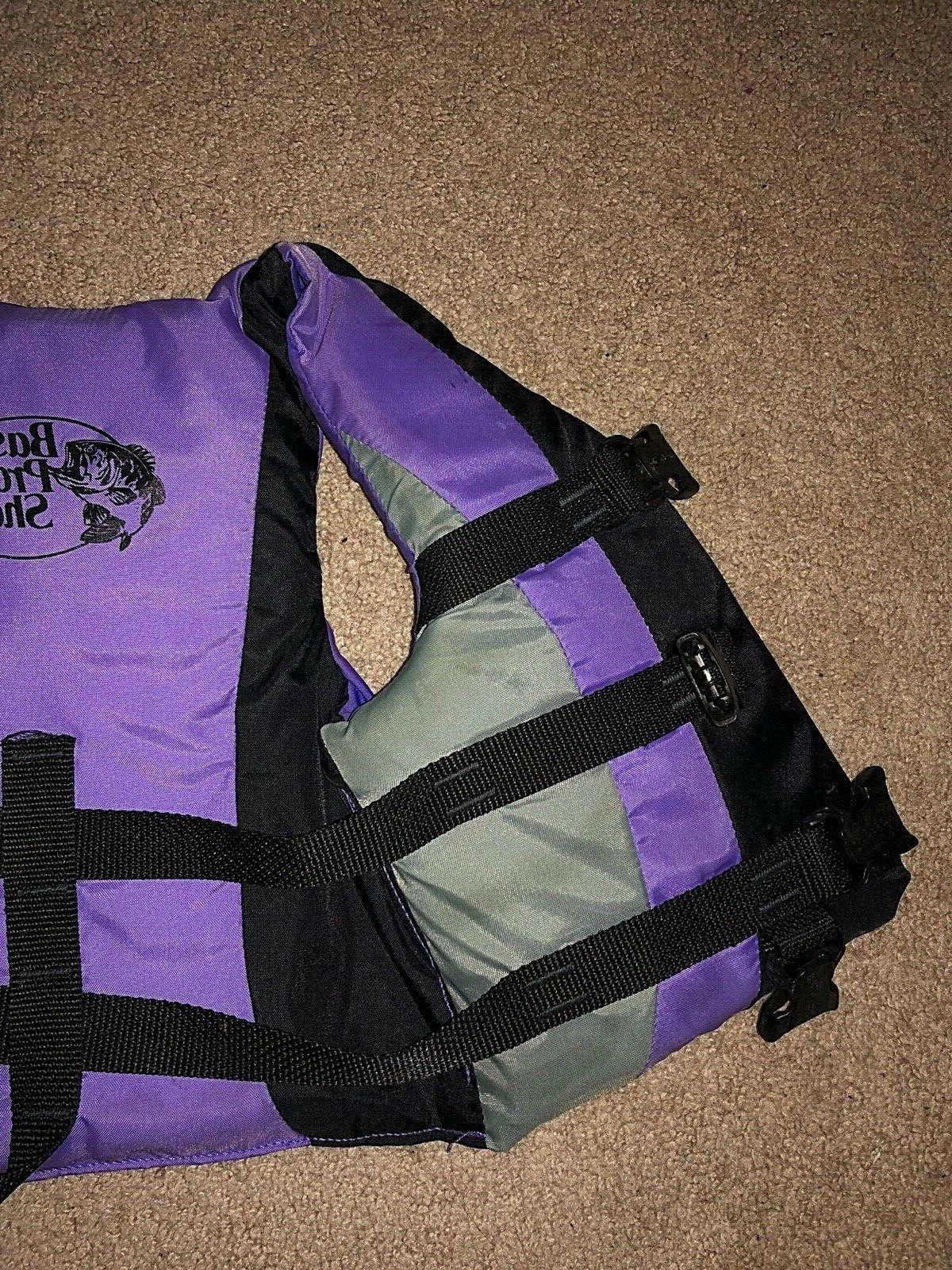 Youth Type 3 Purple Preserver Vest Bass Shops