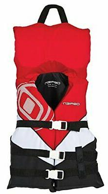 O'Brien Youth with Collar 3 Buckle Nylon Vest
