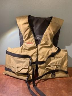 Comfort Fishing Life Vest Size: Large