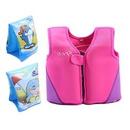 Life Jacket For Toddler Girls - Minsk Boys Swim Vest Neopren