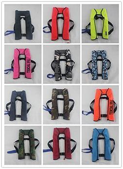 EDTara Life Jacket Quality Automatic Inflatable Lightweight