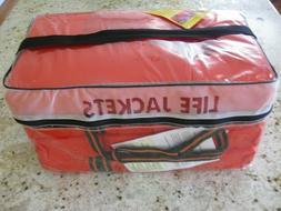 Kent Life Jacket Boat Vest Preserver 4 Pack Type ll Adult Or