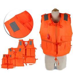 Life Jacket Coats Lifesaving Vest Wetsuit Oxford Cloth Child