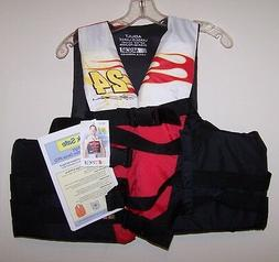 NASCAR Life Jacket / Flotation Device / PFD / ADULT L-XL - N