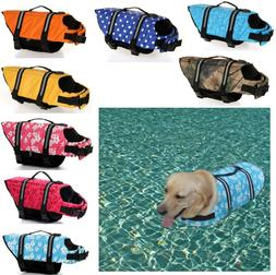 Life Jacket for Dog Saver Vest Preserver Adjustable Puppy Do