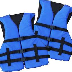 4 Pack Adult Life Jacket PFD USCG Type III Universal Boating