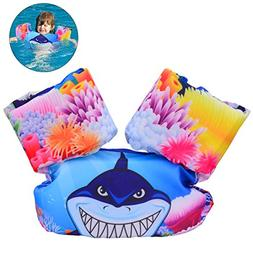 YoungRich Child Life Jacket, Kid Swimming Vest with Lovely D