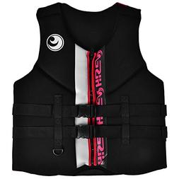 Dilwe Life Jacket, Portable Neoprene Adult General Purpose B
