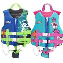 HeySplash Life Jacket Safety Vest,Child Size Watersports Swi