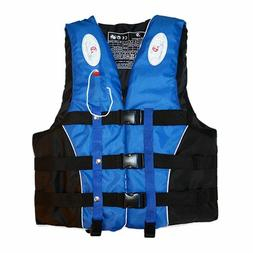 Life Jacket Survival Suit Water Sports Outdoor Polyester Adu