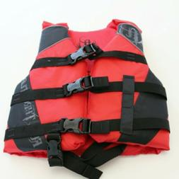 Life Jacket Swim Vest Child 30-50 lbs Absolute Outdoor Full