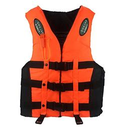Karc Life Jacket Thickened Foam Life Vest Teens Snorkel Vest