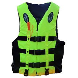 Life Jacket for Kids Thickened Foam Life Vest Teens Snorkel