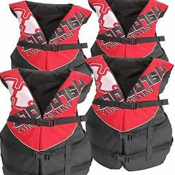 Hardcore Water Sports Adult Life Jacket Vest - US Coast Guar