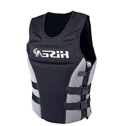 Life Jacket Vest, Outdoor Neoprene Watersports Safety Life S
