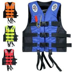 Life Jacket Vest Adult Fully Enclosed Water Sport Safty Swim