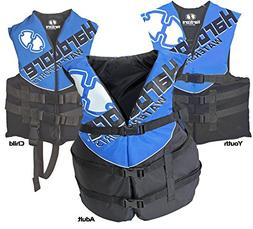Hardcore Water Sports Child Life Jacket Vest - US Coast Guar
