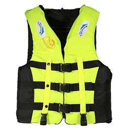 Lixada Life Jacket Vest Adult Kids Women Men Water Sports Sw