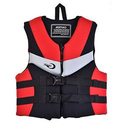 Life Saving Vest, Adult Aid Buoyancy Waistcoat Life Saving J