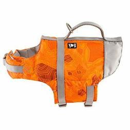 Hurtta Life Savior Dog Life Vest/Jacket Orange Camo 80-160 l