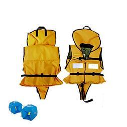 Kisstaker Child Life Vest, Child Surf Snorkeling Vest Water