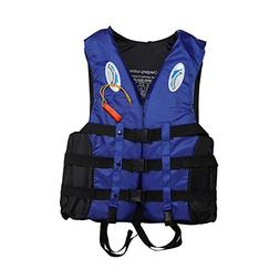Mounchain Life Vest Jacket Water Sports for Unisex Adults Ch