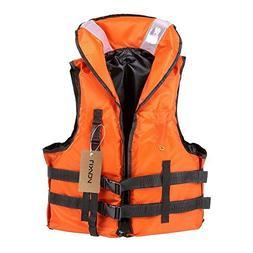 Lixada Life Vest Jacket,Boating Vest Survival Vest with Emer