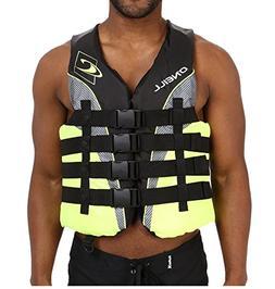 O'Neill Life Vest Wake Waterski Men's Superlite USCG Vest,