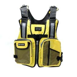 Lightweight PFD Vest Kayak Aid Sailing Boat Buoyancy Fishing