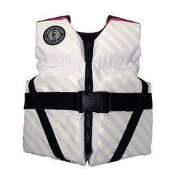 Mustang Survival Lil' Legends 70 Youth Life Vest White/Pink