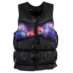 Ronix Womens Limelight Capella 2.0 CGA Vest Blk/Galaxy -medi