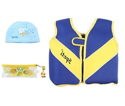 Little Boys Life Jacket - Minsk Infant Swim Vest Neoprene, Z