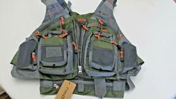 Lixada Fly Fishing Jackets & Vests Vest, Safety Life Breatha