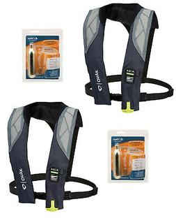 LOT OF 2 ONYX A-24 IN SIGHT Automatic Inflatable Life Jacket