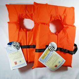 Lot of 2 Stearns Adult Universal Type II Life Jacket Vest  C