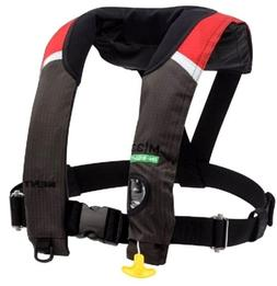 Kent M-33 In-Sight Manual Inflatable Red/Black Life Jacket P