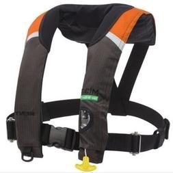 M-33 Manual Inflatable Life Jacket Orange