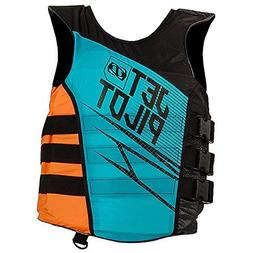 JetPilot Men's Matrix Nylon Side Entry PFD Life Vest Jacket