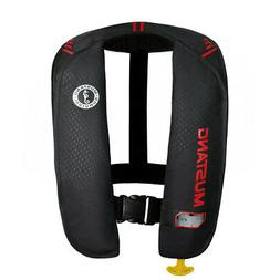 Mustang MD2014 MIT 100 Inflatable Manual PFD Black/Red