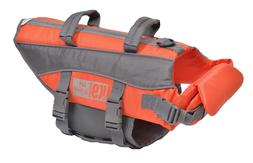 Medium Dog Puppy Flotation Device Life Jacket Swimming Safet