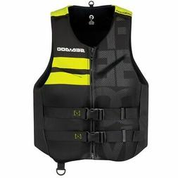 Sea Doo Men's Freedom Life Jacket Yellow Small