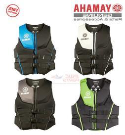 YAMAHA Men's Neoprene 2-Buckle PFD Life Jacket Vest Multiple
