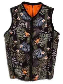 Men's Liquid Force Z-Cardigan Comp Vest / Life Jacket - Trop