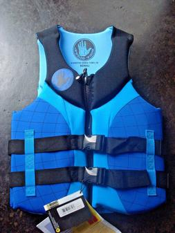 Body Glove - Mens L Blue Life Jacket - Coast Guard Approved